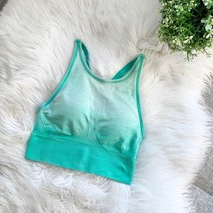 New Balance Long Line Sports Bra Top | Small